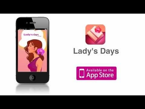 Женский календарь Ladys Days для iPhone