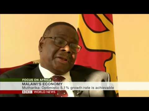 Sophie Ikenye interview with Malawi president Peter Mutharika