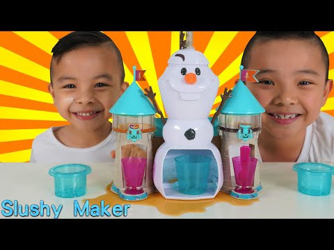 Make SLUSHY With OLAF Disney Frozen 2 Ckn Toys