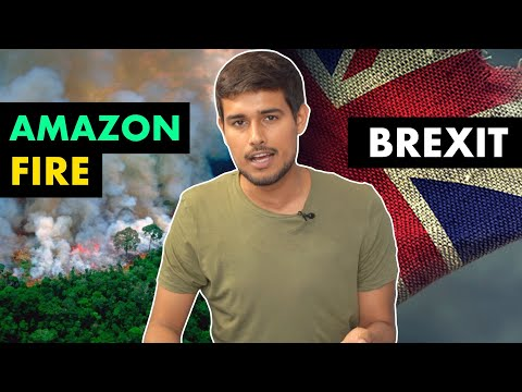How Social Media Caused Amazon Fires and Brexit   Explained by Dhruv Rathee