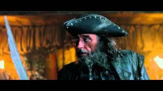Pirati Dei Caraibi   Oltre I Confini Del Mare    Barbanera   Clip Dal Film | Hd