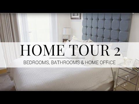 HOME TOUR | Bedrooms, Office & Bathrooms | JASMINA BHARWANI