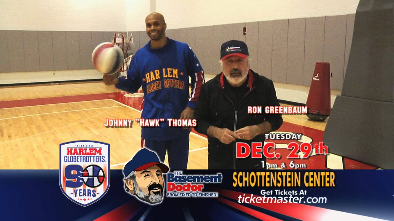 Basement Doctor Columbus Ohio Part - 22: Harlem Globetrotters Come To Columbus Ohio   December 29, 2015   Special  Guest The Basement Doctor