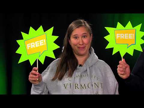 Take Control Of Your Future: Opportunities For Young People at the Community College of Vermont