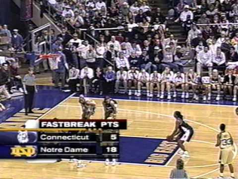2001 Connecticut at Notre Dame