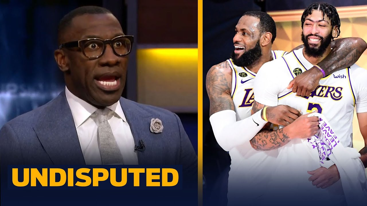 Skip & Shannon on LeBron's 2-yr/$85M ext. & AD finalizing $190M deal with Lakers | NBA | UNDISPUTED