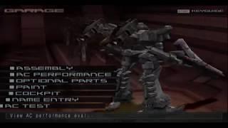Toothpick's AC in Armored Core Nine Breaker