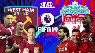 FIFA 19 - เวสต์แฮม VS ลิเวอร์พูล - พรีเมียร์ลีกอังกฤษ[นัดที่25]