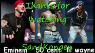 Eminem Ft 50 Cent & Lil Wayne - Anthem Of The Kings (with lyrics)