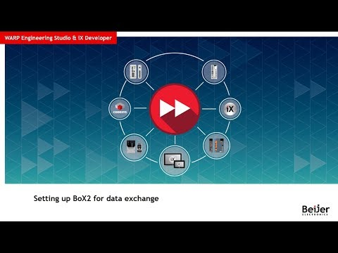 Setting up BoX2 for data exchange – Video 4 by Beijer Electronics