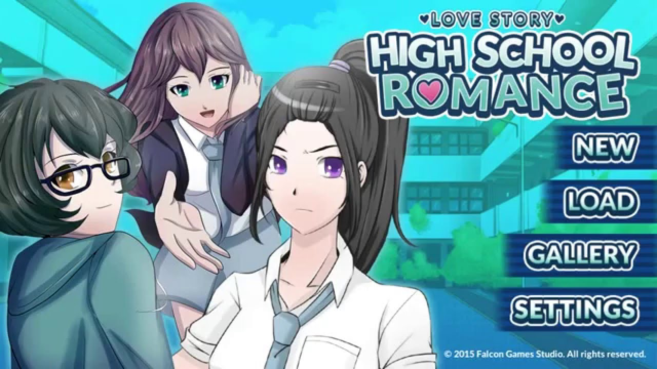Anime high school dating games online