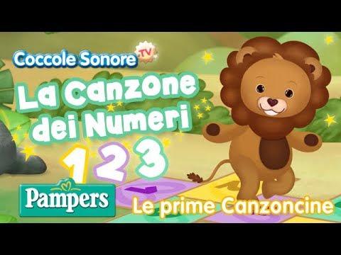 La Canzone dei Numeri - Canzoni per Bambini di Coccole Sonore