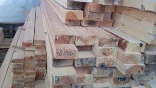 видео Брусок 50х50, 40х40, строганный