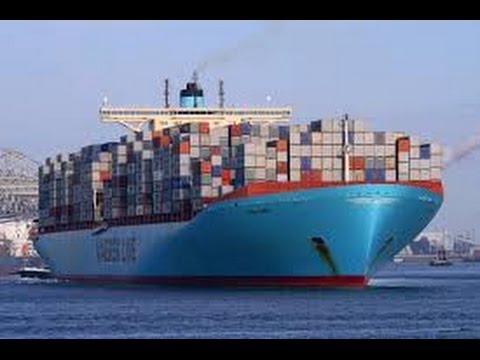THE MEGASHIP OOCL ATLANTA - Discovery Finance Business [Documentary films]