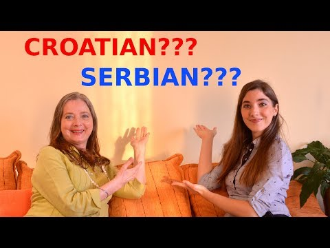 Are Croatian and Serbian the Same or Different Language?