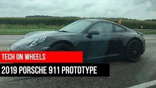 Spotted a 2019 Porsche 911 992 Prototype around Stuttgart