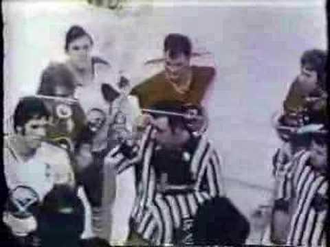 1972-73 Sabres vs Flyers NHL Footage