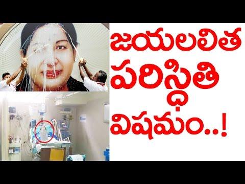 Jayalalitha Health Status | TamilNadu chief minister Jayalalitha very critical Apollo Hospitals says