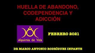 HUELLA DE ABANDONO, ADICCIONES Y CODEPENDENCIA