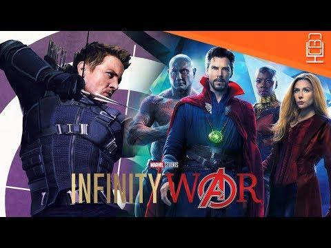 Avengers Infinity War Directors on Why Hawkeye Isn't In The Trailers