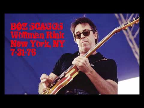 Boz Scaggs at Wollman Rink, Central Park, NYC 7/31/76