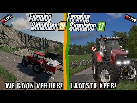 {NL} 'FARMING SIMULATOR 17 ---- FARMING SIMULATOR 19' BlokkieGames LiveStream 19-11-18 thumbnail