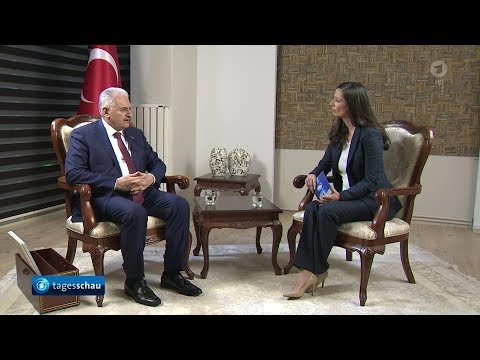 ARD | Binali Yildirim im Interview | 2018