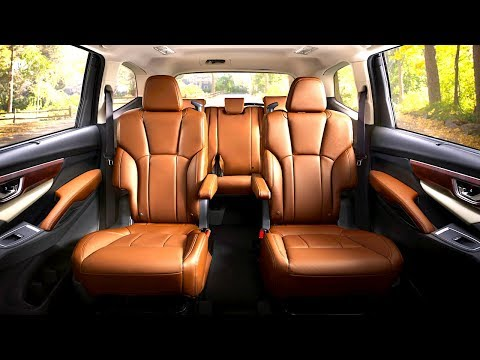 Subaru Ascent INTERIOR 8 Seater Luxury Edition In Detail New Subaru Ascent Touring Interior 2018
