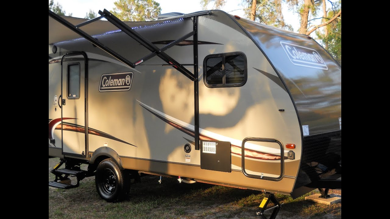 Coleman Travel Trailers >> Coleman Light Lx Series 1605fb 2017 Travel Trailer