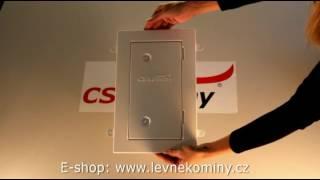 CS komíny - díly keramického komínu 1