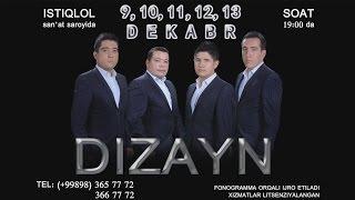 Afisha - Dizayn SHOU 9-10-11-12-13-dekabir kunlari konsert beradi 2015