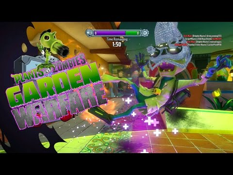 I'ma Plant!!! What?!!! - Plants Vs. Zombies: Garden Warfare [Gardens & Graveyards]