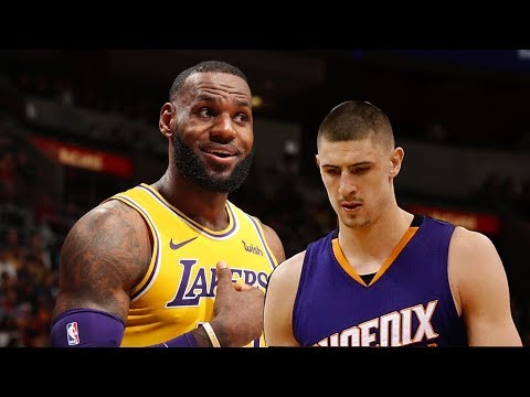 NBA Season, Los Angeles Lakers vs Phoenix Suns Full Game Highlights   12 02 2018