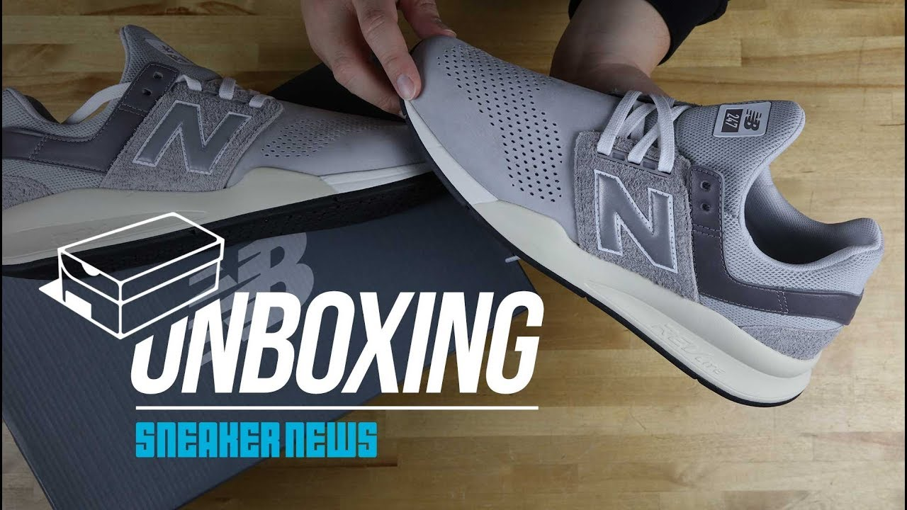 d8c70b3201b5c Unboxing The New Balance 247 v2 - YouTube
