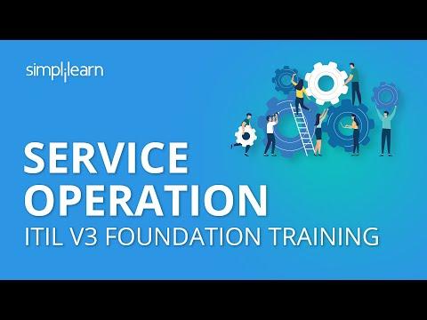 Service Operation | ITIL 2011 Intermediate Lifecycle Module