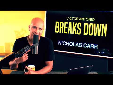 Do Smart Phones Make You Dumber?  Break Down with Nicholas Carr