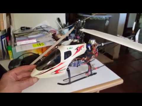 Belt CP RC Helicopter, my new project