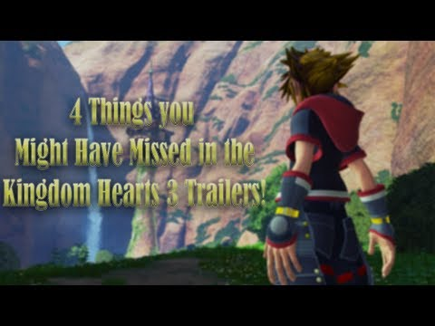 4 Things You Might Have Missed in the Kingdom Hearts 3 Trailers!