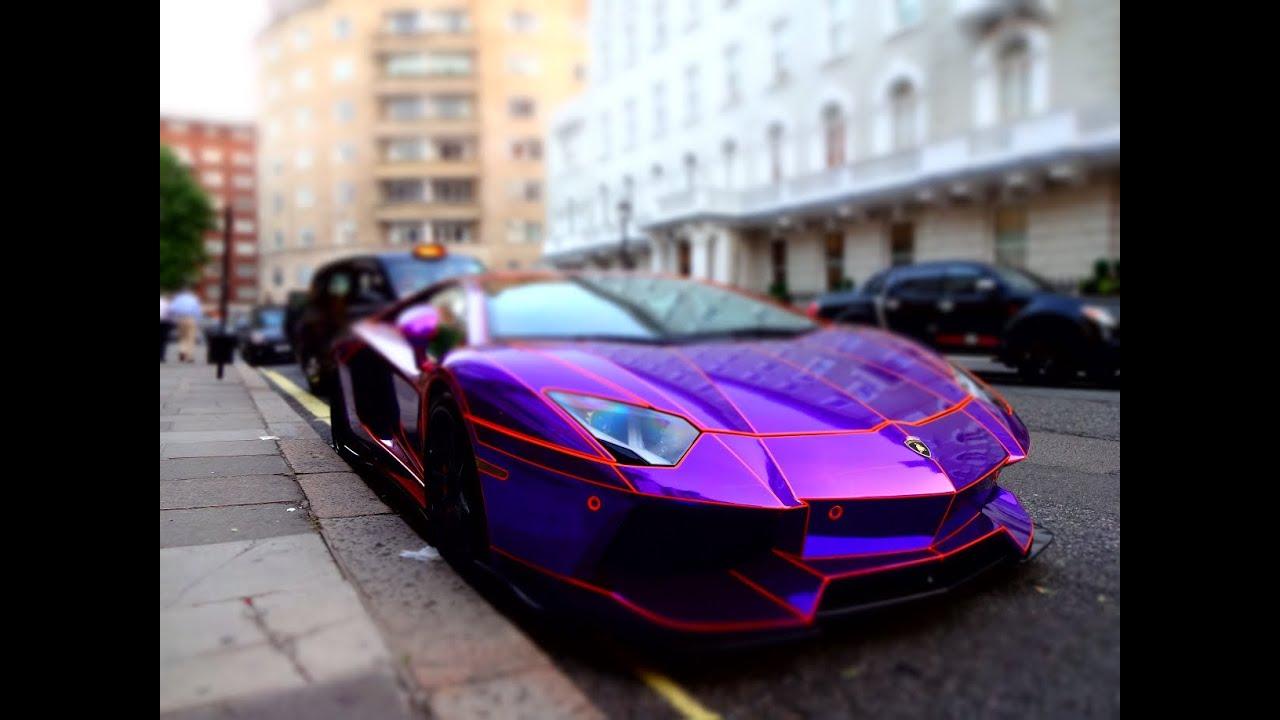 Beautiful Lamborghini Aventador CRAZY!!!!! (London Summer 2013)   YouTube