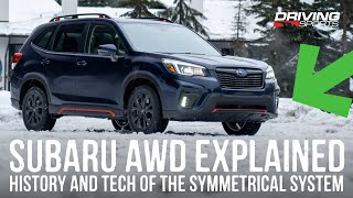Subaru Symmetrical All-Wheel Drive Explained: AWD, VDC and DCCD