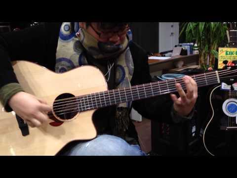 バリトンギター / okapi played baritone guitar(Yokoyama Guitar)