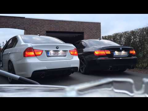 BMW 335i: N54 vs N55 revving