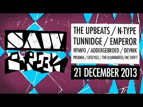 SAW vs BREEK   21-12-2013   Effenaar Eindhoven