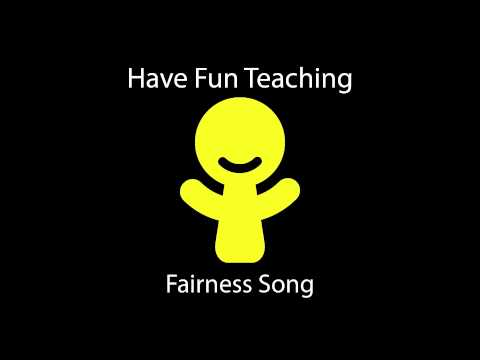 Fairness Song (Learn About Being Fair for Kids - Audio)