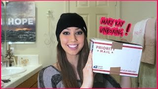 Mary Kay Unboxing!! 2015 - Nourishine Plus Lipgloss, Mascara & More - makeup haul Thumbnail