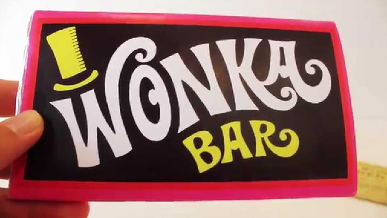 Willy Wonka Golden Ticket And Wonka Bar Replicas Youtube