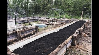 How To Build Raised Garden Beds On a BUDGET || Rustic & Built To Last ||