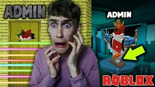 THE STORY OF THE SECRET ADMIN ROOM! Roblox