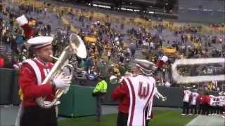 Badger Band  Cam   5h Qtr. at Lambeau Field