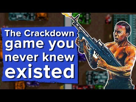 The Crackdown game you never knew existed